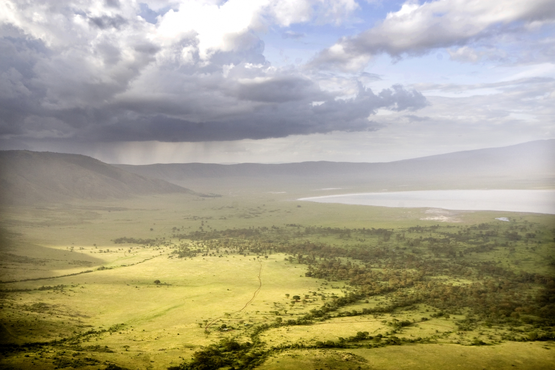 The Ngorongoro krater