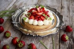 Strawberry tartalette
