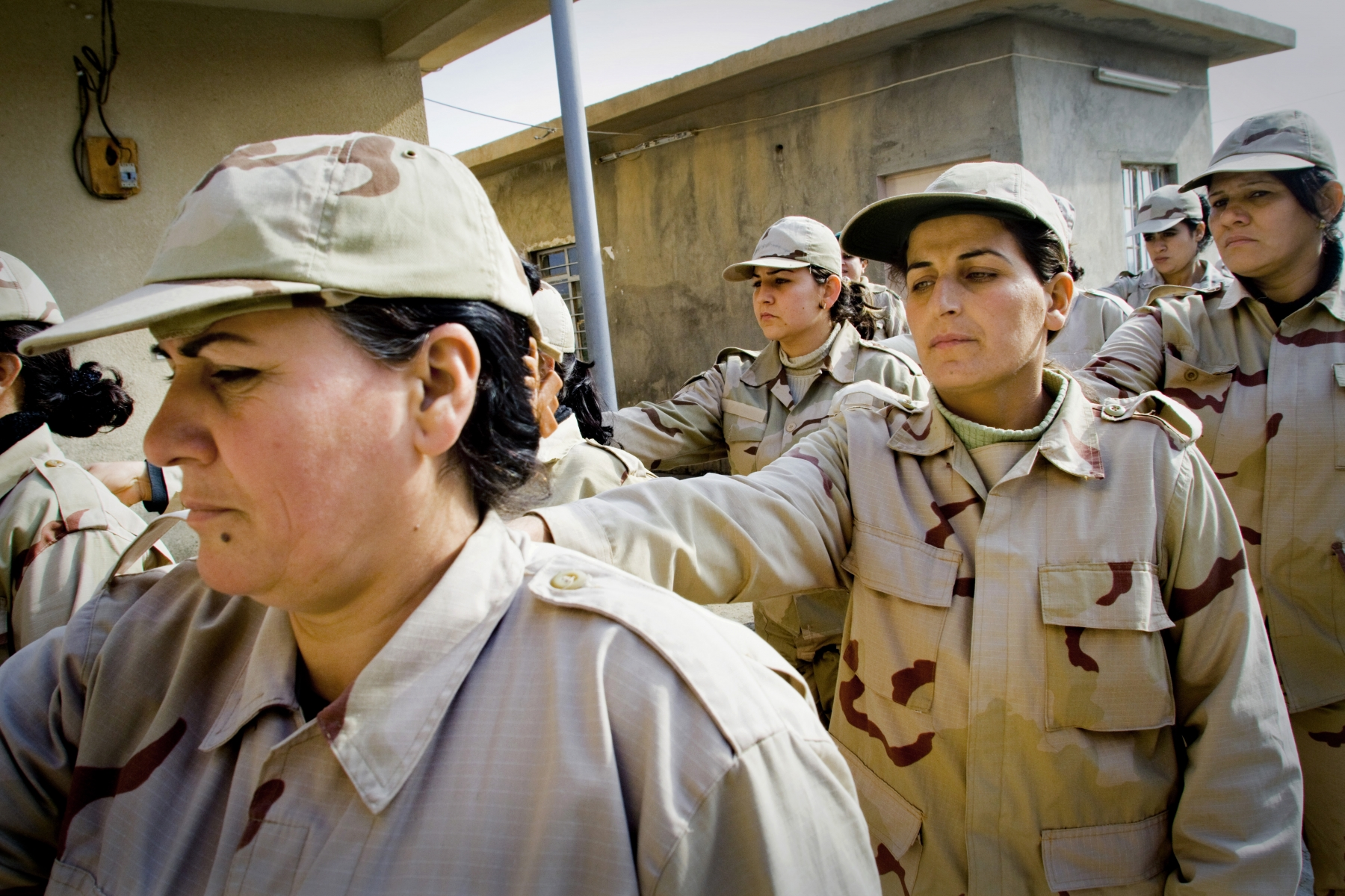 Kurdish soldiers in Iraq 2009