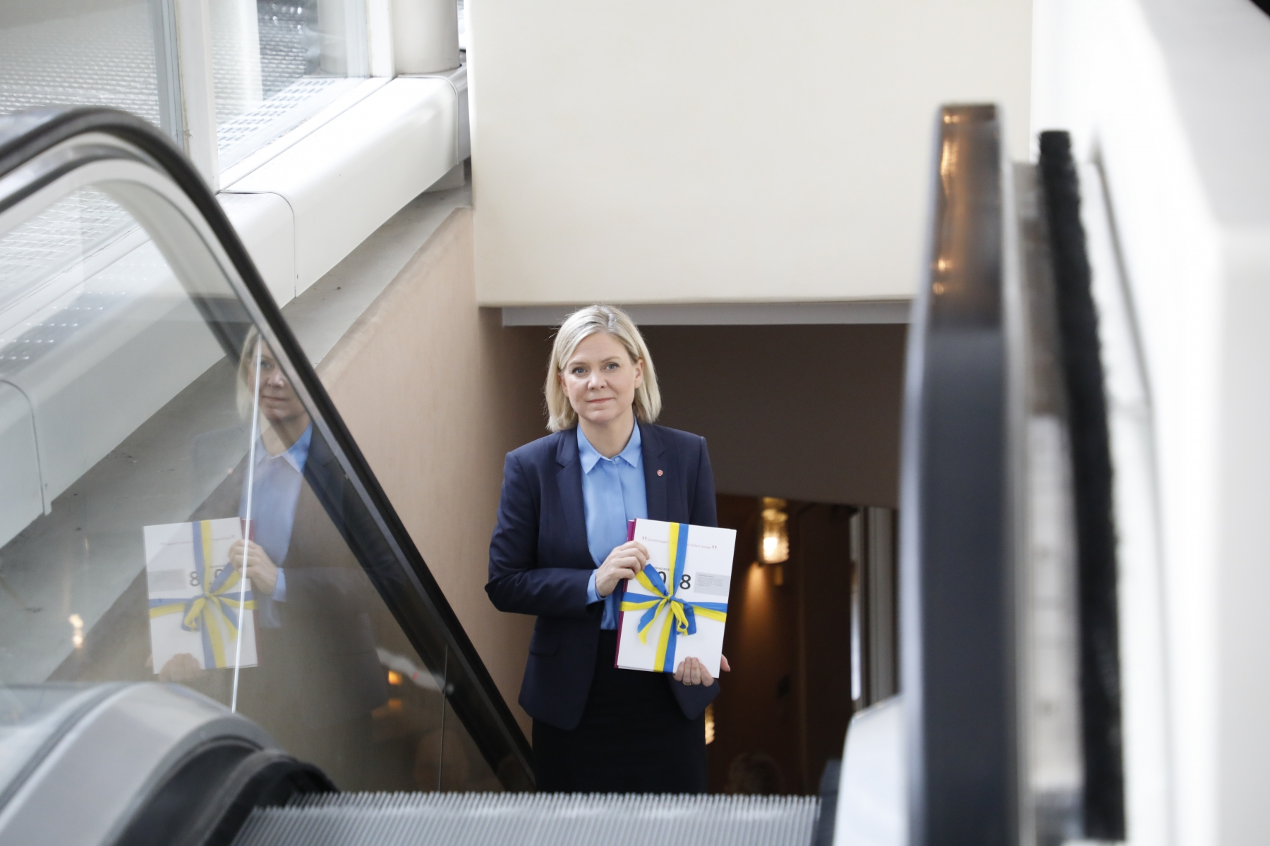 Minister of Finance Magdalena Andersson 2018