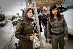 Police women in Iraq 2009
