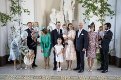 The Swedish royal family in 2017