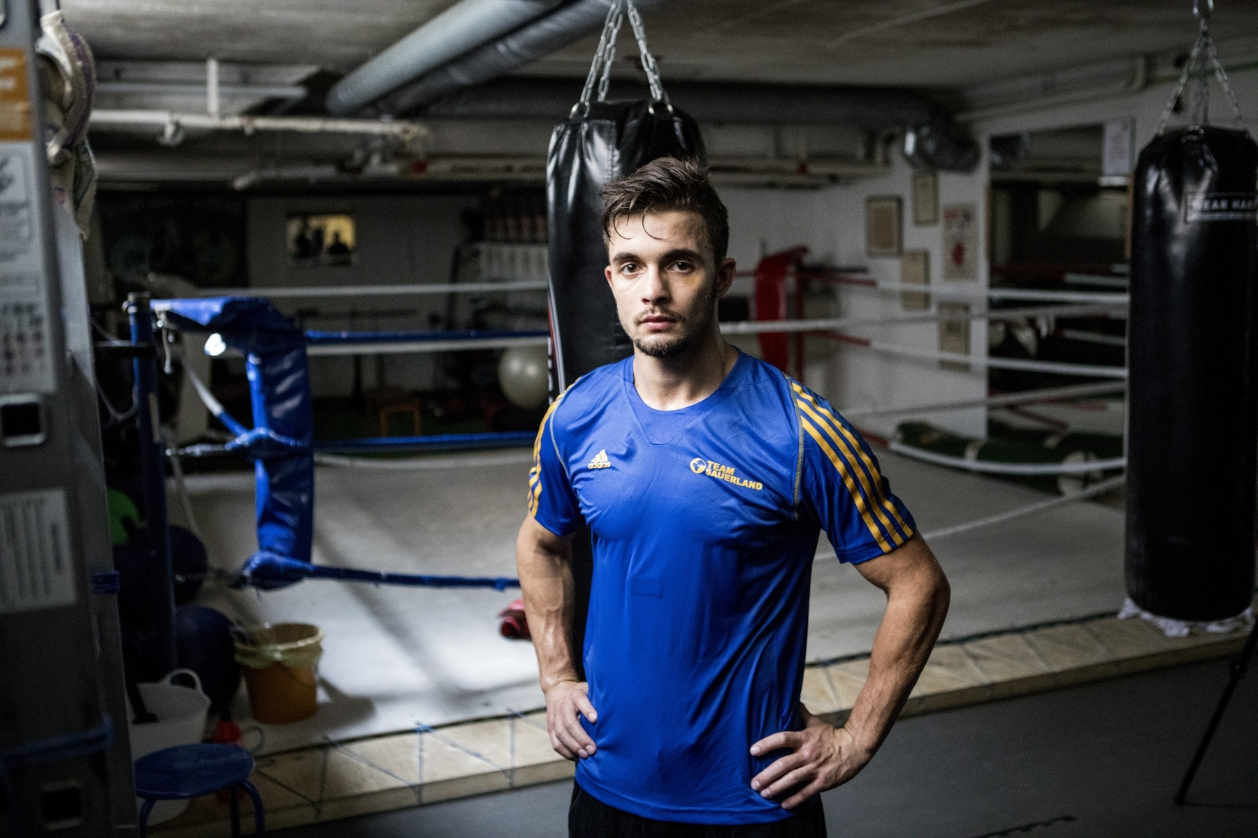 Swedish boxer Anthony Yigit