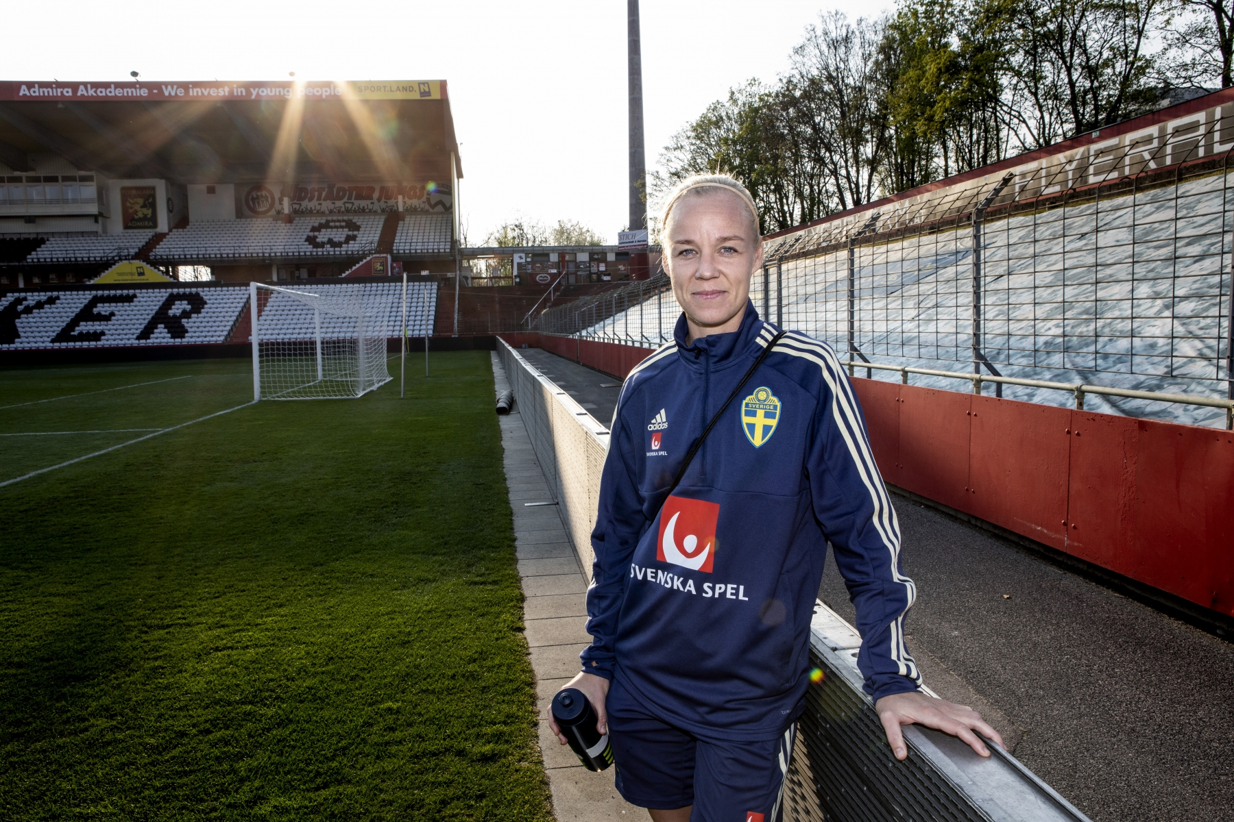 The Swedish football player Caroline Seger
