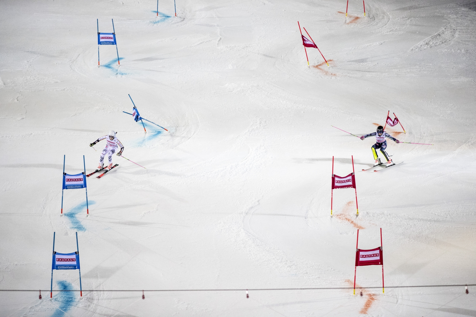 The world Cup in parallel slalom in Stockholm 2019
