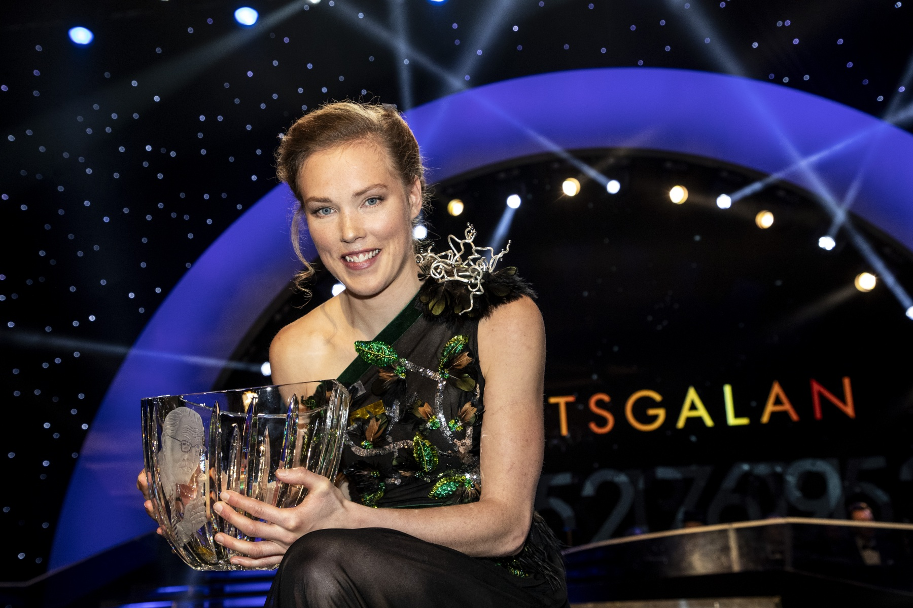 Tove Alexandersson at the Swedish Sports Awards 2020
