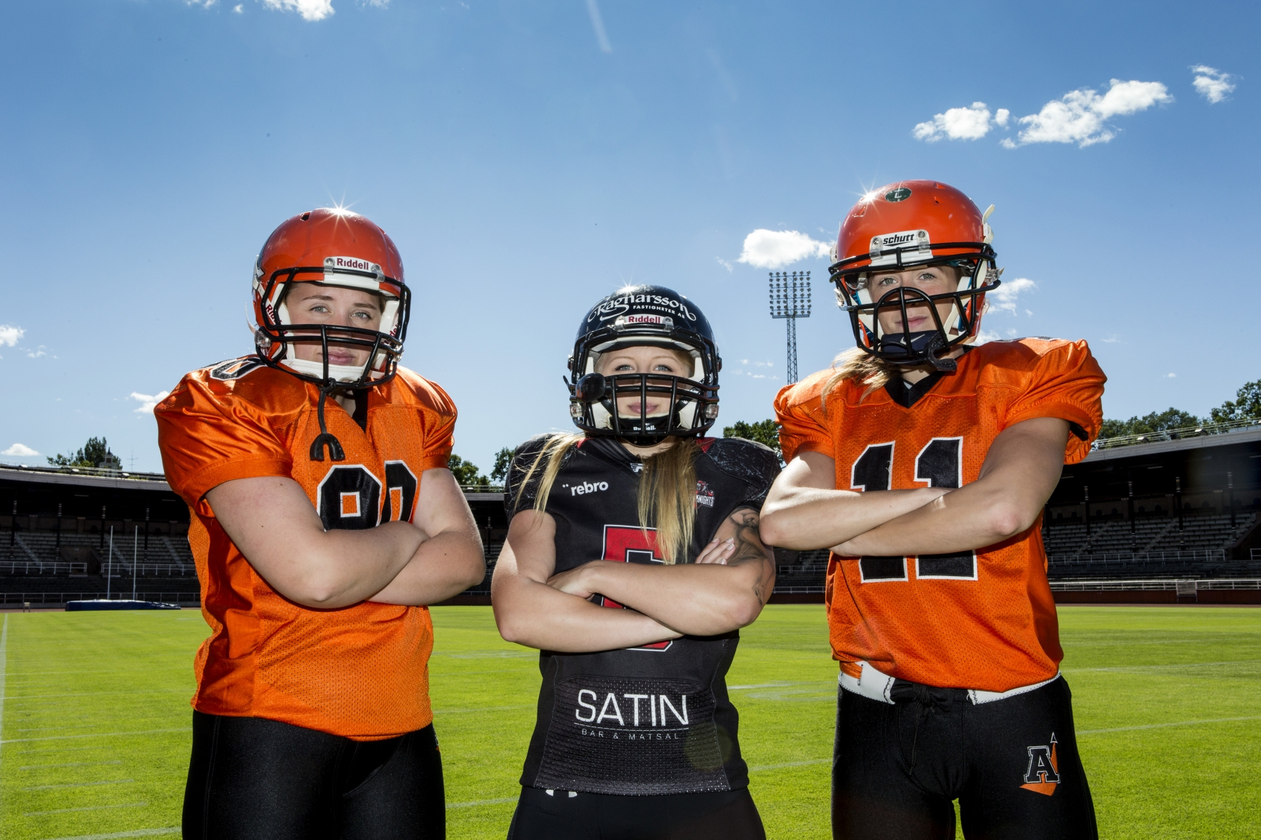 Örebro Black Knights and Arlanda Jets American Football