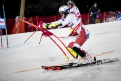 Ramon Zenhaeusern in the world Cup in parallel slalom in Stockholm 2019