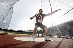 Diskus thrower Daniel Ståhl during Stockholm Diamond league