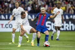 FC Barcelona-Leicester City in Stockholm