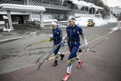 Stina Nilsson and Anna Haag Training Camp Japan 2018